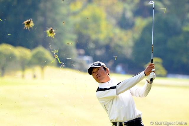 2012年 マイナビABCチャンピオンシップゴルフトーナメント 2日目 岡茂洋雄 確か、元はサラリーマンやったはずですワ。5バーディ、1ボギーのナイスプレー!マンデーを勝ち上がってきましてん!11位T