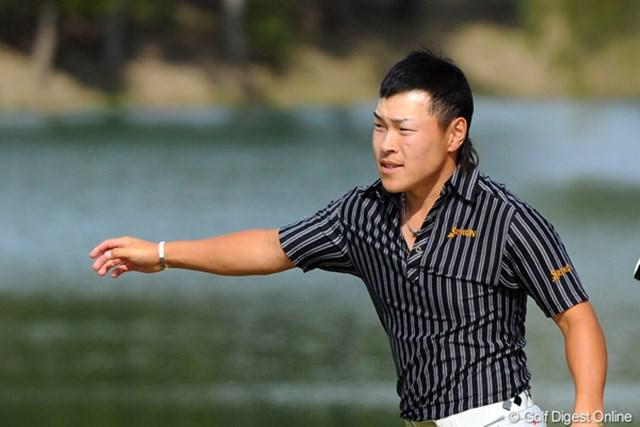 2012年 マイナビABCチャンピオンシップゴルフトーナメント 3日目 藤本佳則 最終18番もバーディ締め!8ストローク伸ばして5位タイに浮上した藤本佳則