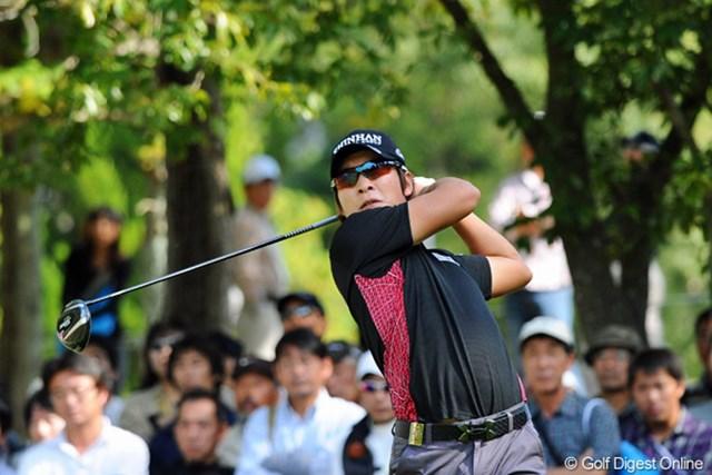 2012年 マイナビABCチャンピオンシップゴルフトーナメント 3日目 キム・キョンテ スコアを1つしか伸ばせなかったが2年ぶりの大会制覇に王手をかけたキム・キョンテ