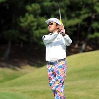 こんなズボンを着用されたらアップしない訳にはいかんでしょ!しかしゴルフはボギー先行でスコアにならず、トータル1オーバーの51位タイ。嗚呼…。 2012年 マイナビABCチャンピオンシップゴルフトーナメント 3日目 片山晋呉