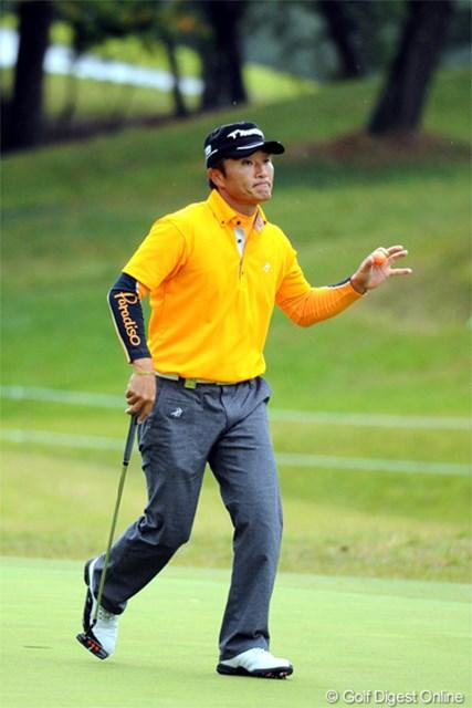 2012年 マイナビABCチャンピオンシップゴルフトーナメント 最終日 宮本勝昌 終盤にバーディを奪いあと一歩のところまで追い上げたのだが・・・