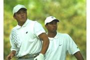 2002年 メモリアルトーナメント 初日 丸山茂樹 タイガー・ウッズ