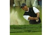 2002年 全米オープン 初日 タイガー・ウッズ