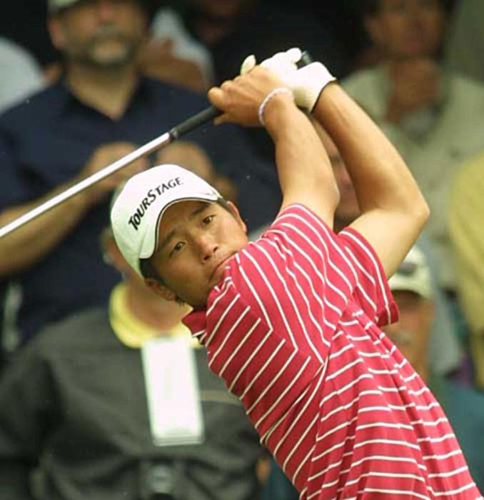 日本のエース!?清田 2002年 全米オープン 初日 清田太一郎