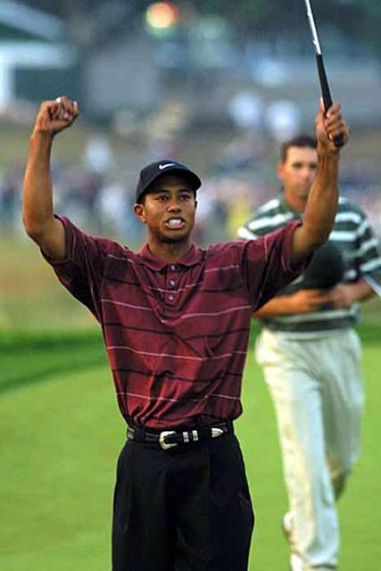 2002年 全米オープン 最終日 タイガー・ウッズ タイガー、メジャー8勝目!