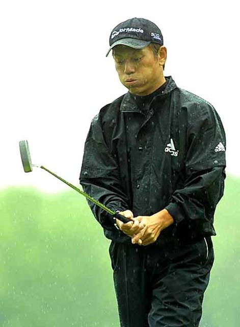 2002年 全米オープン 2日目 田中秀道