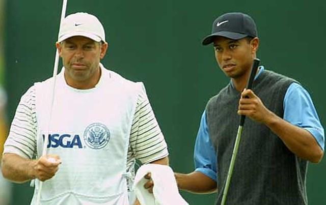 2002年 全米オープン 3日目 タイガー・ウッズ ギャラリーの声援!?に、吠える場面もあった