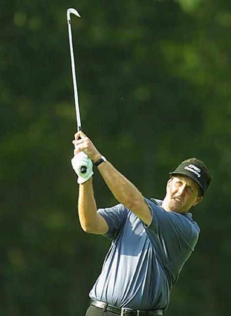 2002年 全米オープン 最終日 フィル・ミケルソン ファンの声援はタイガー以上だったフィル・ミケルソン