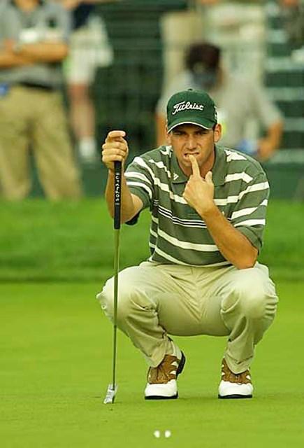 2002年 全米オープン 最終日 セルヒオ・ガルシア 最終日に崩れてしまったセルヒオ・ガルシア