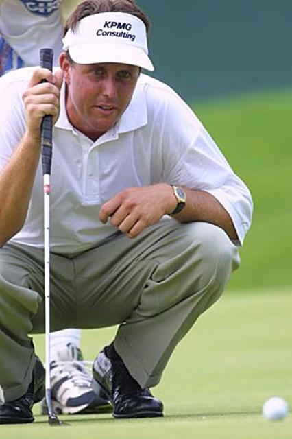 2002年 キヤノン・グレーターハートフォードオープン 3日目 フィル・ミケルソン 前半伸ばしたP.ミケルソン