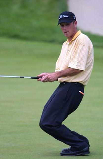 2002年 キヤノン・グレーターハートフォードオープン 3日目 ジョナサン・ケイ 首位をキープするJ.ケイ