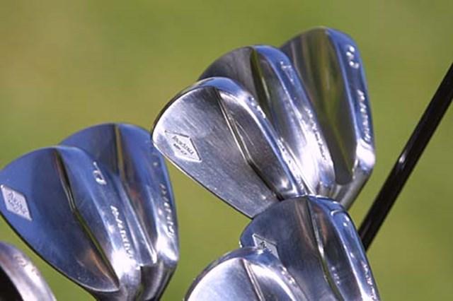 2002年 全米プロゴルフ選手権 事前情報  丸山のニューブレードアイアン 今週からこのブレードアイアンに変更。プロ仕様でまだ市販されていない