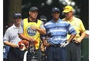 2002年 全米プロゴルフ選手権 初日 タイガー・ウッズ アーニー・エルス デビッド・トムズ