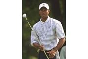2002年 全米プロゴルフ選手権 2日目 タイガー・ウッズ