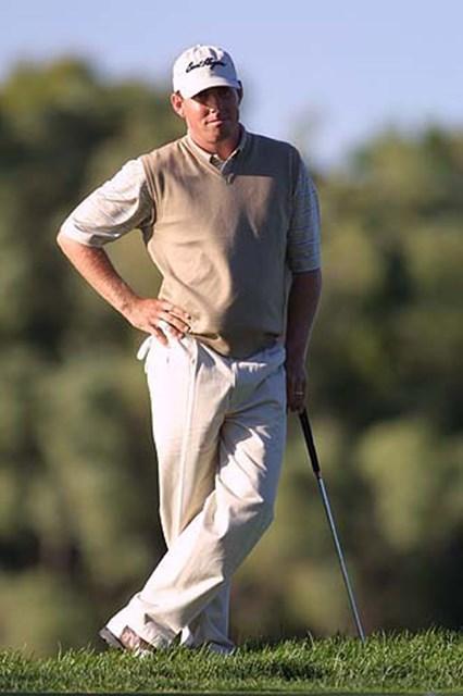 2002年 全米プロゴルフ選手権 3日目 ジャスティン・レナード メジャー2勝目に王手をかけたジャスティン・レナード