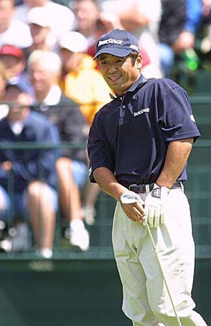 2002年 全米プロゴルフ選手権 3日目 伊沢利光 伊沢は中盤スコアを伸ばしたが、16番で痛恨のトリプルを叩いた。