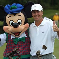 7バーディ、ノーボギー完璧なプレーで初優勝! 2002年 ウォルトディズニーワールドリゾート・ゴルフクラシック 最終日 ボブ・バーンズ