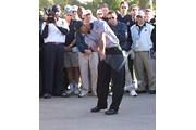 2002年 ザ・ツアー選手権 初日 タイガー・ウッズ