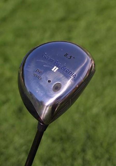 2002年 全米プロゴルフ選手権 事前情報 谷口徹のニュードライバー キャロウェイ・グレートビッグバーサII 今日から使い始めた。