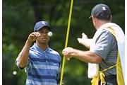 2002年 全米プロゴルフ選手権 初日 タイガー・ウッズ