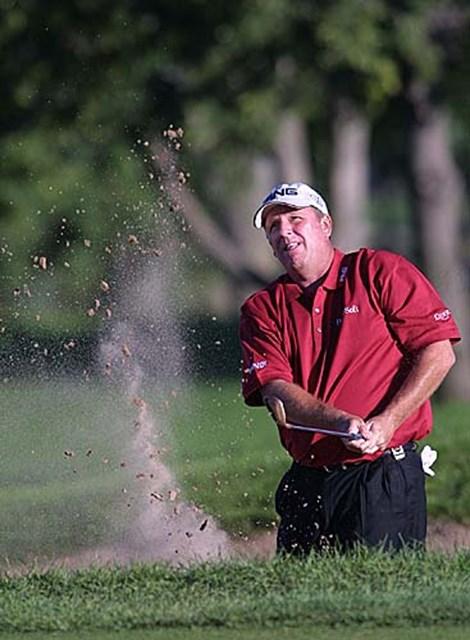 2002年 全米プロゴルフ選手権 3日目 マーク・カルカベッキア まだまだ優勝圏内。大ベテラン、復活なるか?