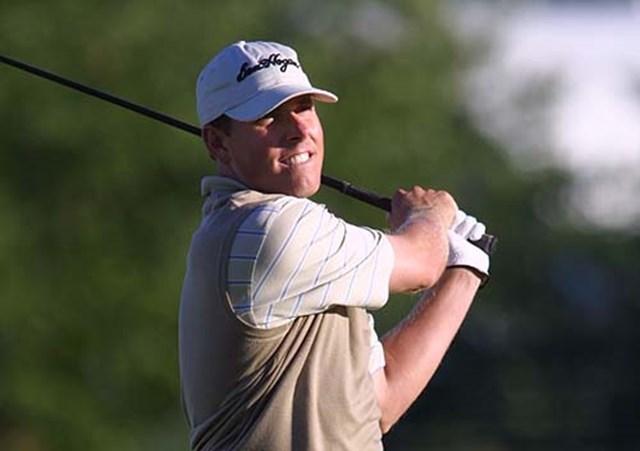 2002年 全米プロゴルフ選手権 3日目 ジャスティン・レナード テキサス出身のレナードは、強風の下でこそ本領発揮!?