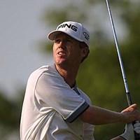 堅実なプレーで上位に入った。この経験は将来に生きるだろう。 2002年 全米プロゴルフ選手権 最終日 クリス・ライリー