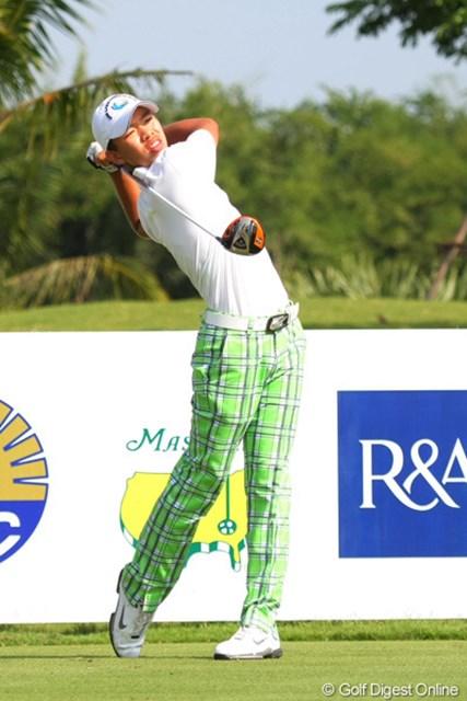 2012年 アジアパシフィックアマチュア選手権 3日目 グァン・ティンラン 3日間首位を守るグァン・ティンラン(14歳)がマスターズ出場に王手