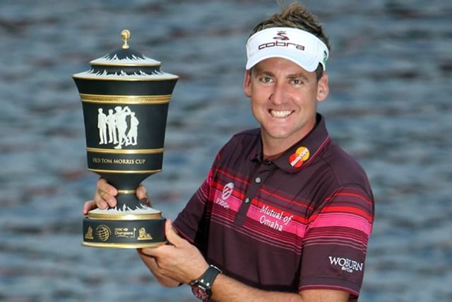 最終日に強豪を振り切ってWGC2勝目を果たしたイアン・ポールター(Ross Kinnaird/Getty Images)