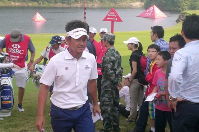 2012年 WGC HSBCチャンピオンズ 最終日 藤田寛之 2日目から3日間連続で67をマークした藤田寛之