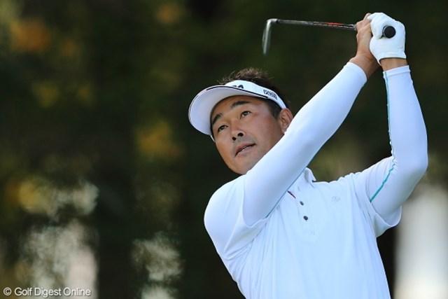 首位に2打差の2位でスタートした久保谷だが「いつ何が起こるか分からないゴルフ」とポツリ。