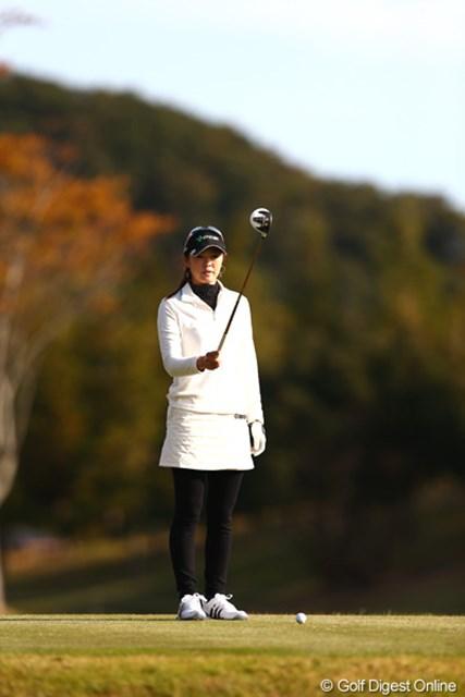 2012年 伊藤園レディスゴルフトーナメント 初日 日下部智子 ついにチーム伊藤園の最古参に!初日は4オーバー87位と苦しいゴルフになりました