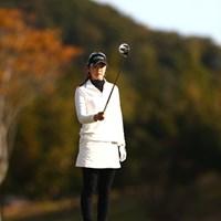 ついにチーム伊藤園の最古参に!初日は4オーバー87位と苦しいゴルフになりました 2012年 伊藤園レディスゴルフトーナメント 初日 日下部智子