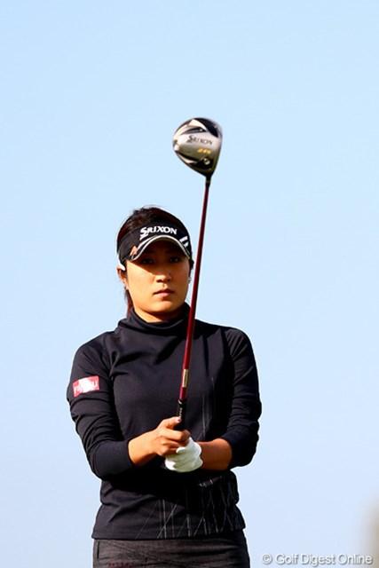 2012年 伊藤園レディスゴルフトーナメント 初日 藤本麻子 ディフェンディングチャンピオンはまずまずのスタートかな?2アンダー24位タイ