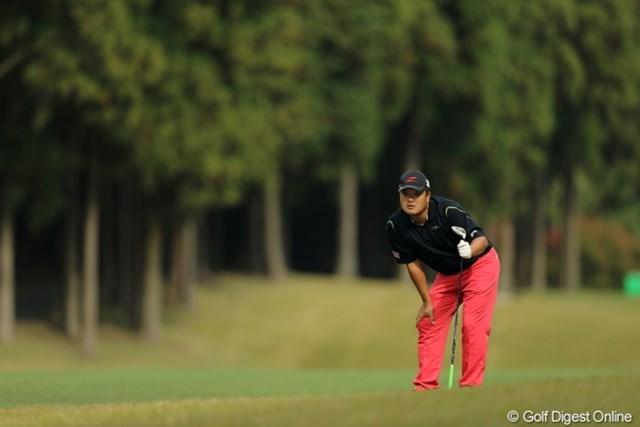 2012年 三井住友VISA太平洋マスターズ 2日目 小田孔明 プロって凄いよな・・・ツーオンどころかオーバーしちゃうんだもんな。