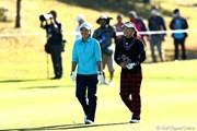 2012年 伊藤園レディスゴルフトーナメント 2日目 有村智恵&茂木宏美
