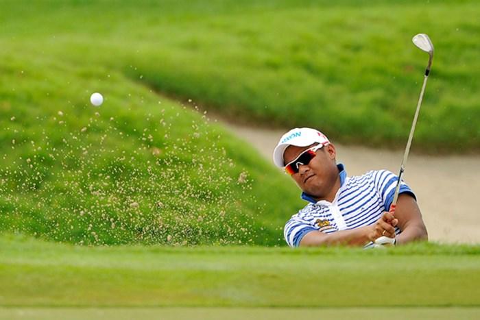 アジアンツアー組のC.ニラトが暫定ながら首位に並んだ ※画像提供:アジアンツアー 2012年 バークレイズ・シンガポールオープン 2日目 チャプチャイ・ニラト