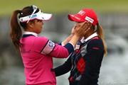2012年 伊藤園レディスゴルフトーナメント 最終日 有村智恵&イ・ボミ