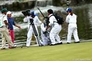 2012年 伊藤園レディスゴルフトーナメント 最終日 TVスタッフ