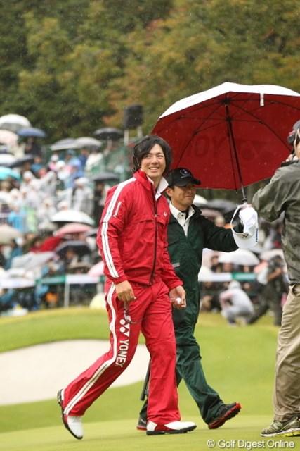 2年ぶりの勝利。石川遼は進化の過程でそれを勝ち取った。