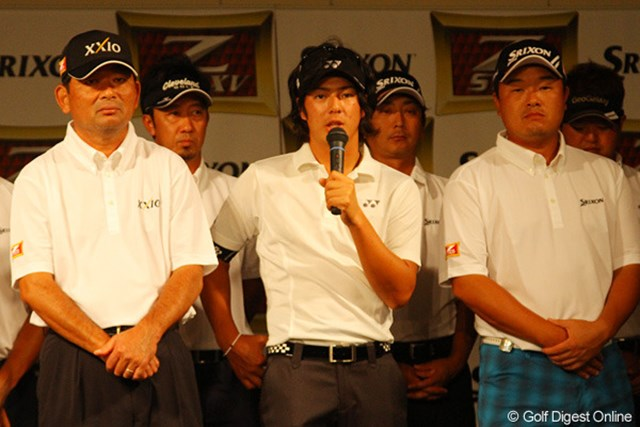 6月からニューボールを使用してきた石川遼も使用感を語った
