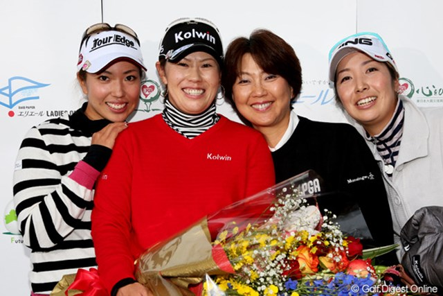 2012年 大王製紙エリエールレディスオープン 2日目 竹末裕美 今日で引退、竹末選手お疲れ様でした。