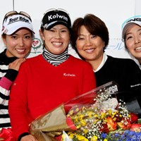 今日で引退、竹末選手お疲れ様でした。 2012年 大王製紙エリエールレディスオープン 2日目 竹末裕美