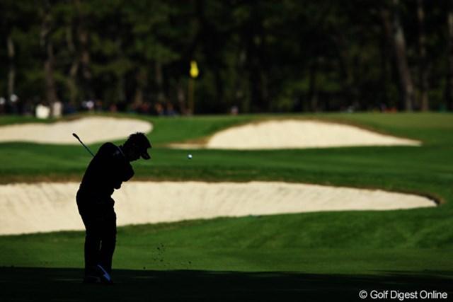 2012年 ダンロップフェニックストーナメント 最終日 藤田寛之 スコアを1つ伸ばし、4位タイフィニッシュ。来週、初の賞金王決定を期待してます。
