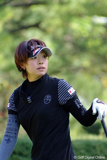 ホステスプロとして国内最終戦に臨む森田理香子。今週もイーグルで魅せる!