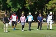 2012年 LPGAツアーチャンピオンシップリコーカップ 事前 岡本綾子門下