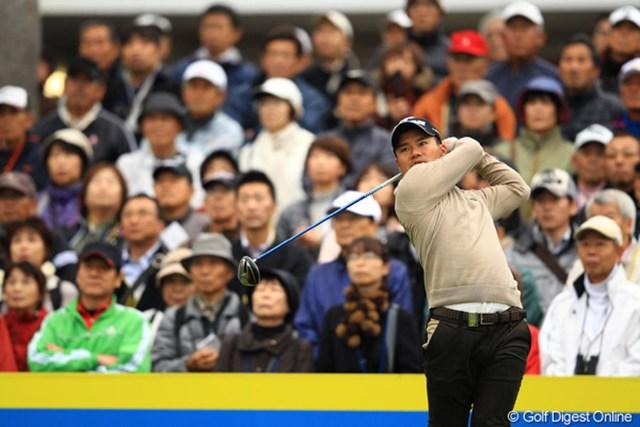 石川遼、藤本佳則との同組ラウンド。宮里優作はコースとの相性の良さを発揮。