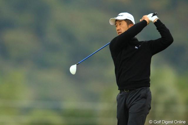 2012年 カシオワールドオープン 2日目 S.K.ホ 今日はスコアを伸ばせず、5位タイへ後退。