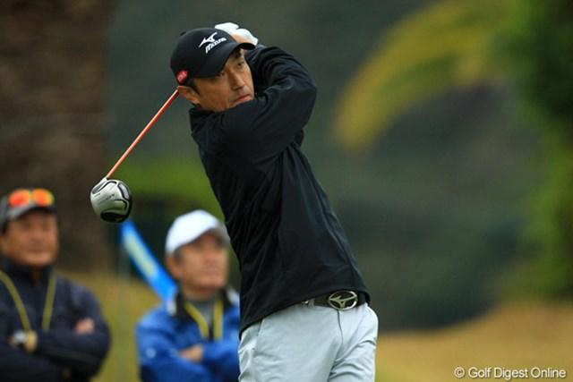 2012年 カシオワールドオープン 2日目 佐藤信人 昨年、日本オープンでの活躍でシード復帰したのは、まだ記憶に新しいところ。81位タイで予選落ちとなり、残念ながら1年でシード権を失う事に・・・。QTでがんばって欲しいです。