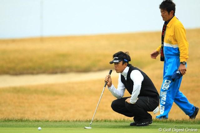 首位タイグループには加われなかったものの、上井邦浩も初優勝のチャンスをキープ。